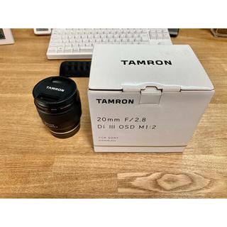 TAMRON - tamron 20mm f2.8 美品