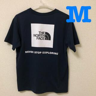 THE NORTH FACE - ノースフェイス メンズ Tシャツ Mサイズ 半袖 ネイビー