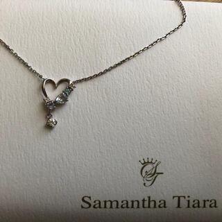 サマンサティアラ(Samantha Tiara)のサマンサティアラ Samantha tiara トパーズ ハート ネックレス(ネックレス)