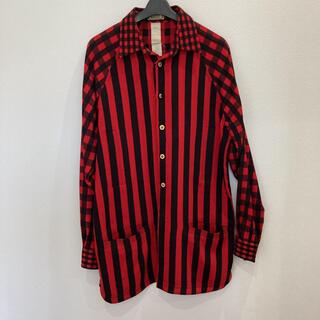 ジャンニヴェルサーチ(Gianni Versace)のヴェルサーチ ストライプシャツ(シャツ)