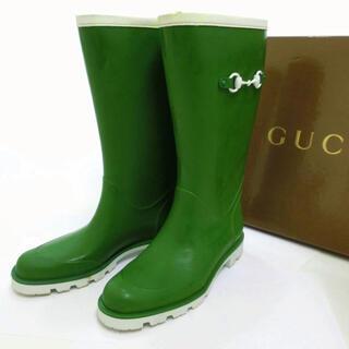 グッチ(Gucci)のGUCCI レインブーツ 24cm レディース(レインブーツ/長靴)
