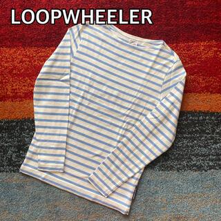LOOPWHEELER ループウィラー ボーダー カットソー 長袖 吊り編み(Tシャツ/カットソー(七分/長袖))