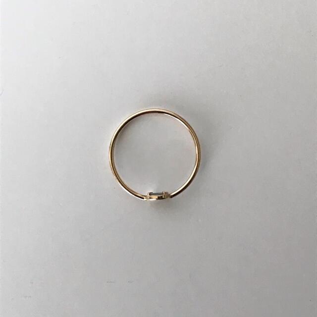 agete(アガット)のagete アガット スタックリング 9号 レディースのアクセサリー(リング(指輪))の商品写真
