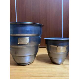 エムアンドエム(M&M)のm&m MASSES 植物鉢 S,M 2点セット(プランター)