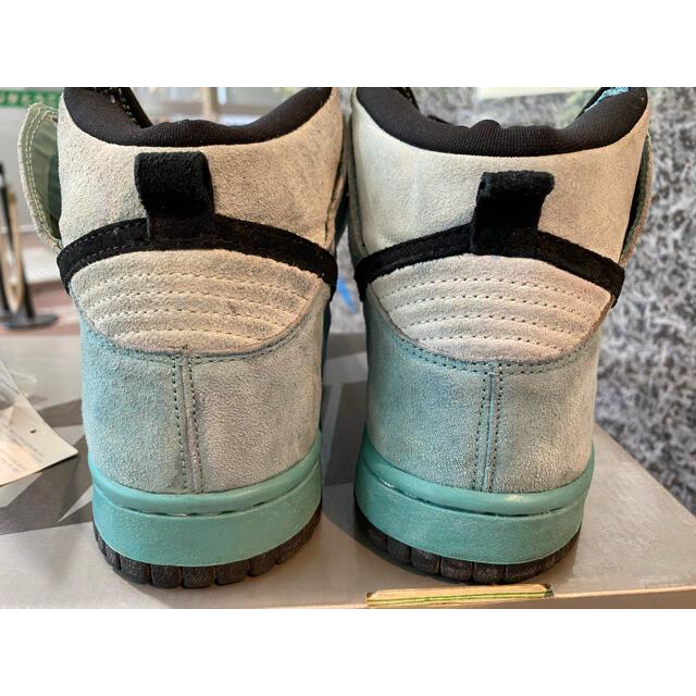 NIKE(ナイキ)の2004 NIKE DUNK HIGH PRO SB SEA CRYSTAL メンズの靴/シューズ(スニーカー)の商品写真