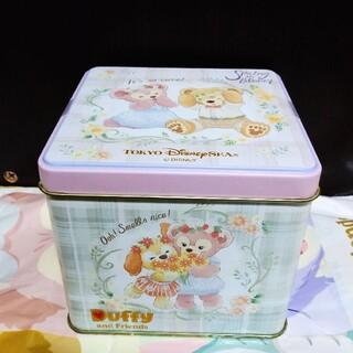 ダッフィー - ディズニーシー スプリングインブルーム チョコレート 缶 ダッフィー&フレンズ