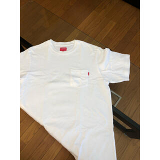 Supreme - Supreme pocket Tee White M