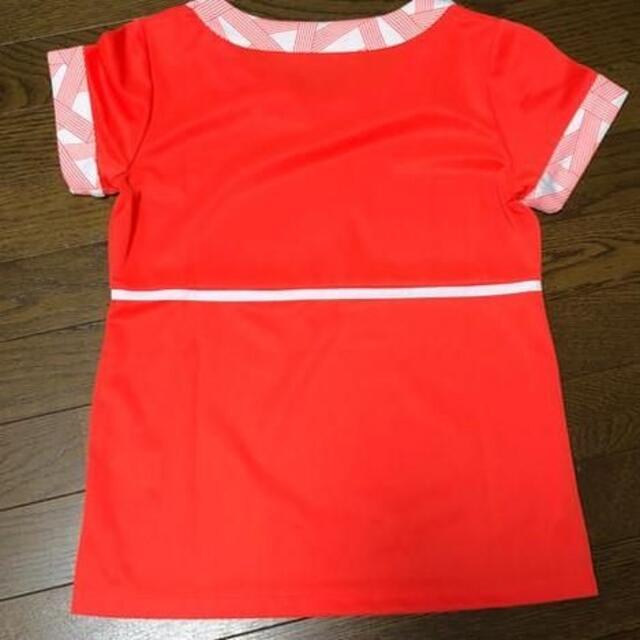 FILA(フィラ)の美品 roche ローチェ レディース テニスウェアー オレンジ M スポーツ/アウトドアのテニス(ウェア)の商品写真
