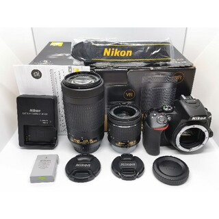 Nikon - 僅か510S!ニコン最新WiFi一眼レフ⭐D5600 AF−Pダブルズームキット
