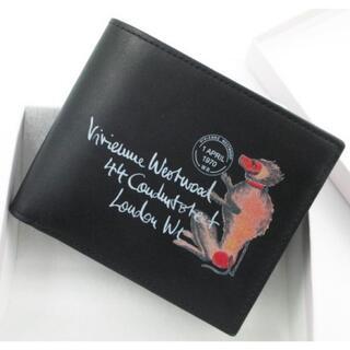 Vivienne Westwood - ★1点限り★未使用品★箱付 ヴィヴィアンウエストウッド 折り財布 黒★