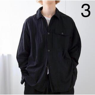 COMOLI - コモリ ベタシャンユーティリティジャケット 20ss ブラック サイズ3