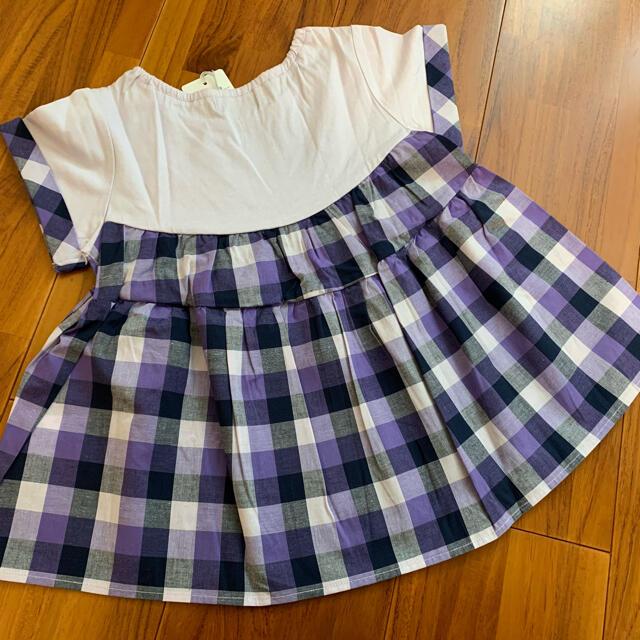 110 アナスイミニ チュニック キッズ/ベビー/マタニティのキッズ服女の子用(90cm~)(Tシャツ/カットソー)の商品写真