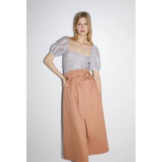 ZARA - ZARA スカート ピンク Lサイズ