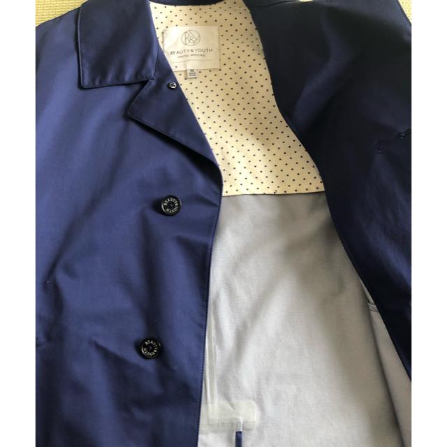 BEAUTY&YOUTH UNITED ARROWS(ビューティアンドユースユナイテッドアローズ)のBEAUTY&YOUTH UNITED ARROWS コート メンズのジャケット/アウター(ステンカラーコート)の商品写真