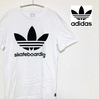 アディダス(adidas)の【美品】アディダスオリジナル スケートボーディング Tシャツ 半袖 シャツ(Tシャツ/カットソー(半袖/袖なし))