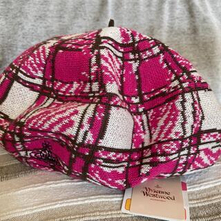 ヴィヴィアンウエストウッド(Vivienne Westwood)の未使用 Vivienne Westwood ベレー帽(ハンチング/ベレー帽)