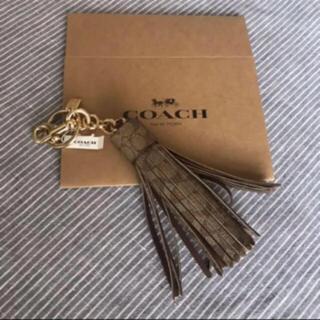 COACH - 新品 COACH タッセルキーホルダー