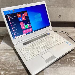 富士通 - 富士通LIFEBOOKノートパソコン Windows10