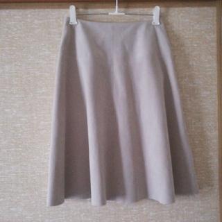 エヌナチュラルビューティーベーシック(N.Natural beauty basic)のスカート(自分でカットオフしてます)(ひざ丈スカート)