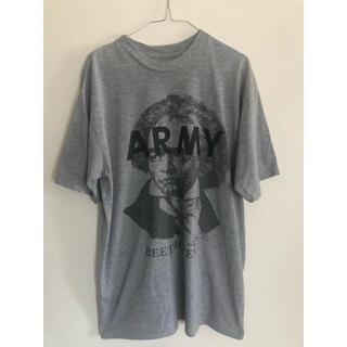 【古着】ベートーベン army Tシャツ リメイク(Tシャツ/カットソー(半袖/袖なし))