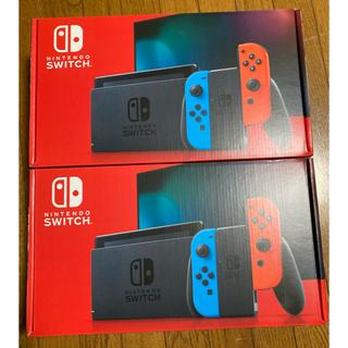 Nintendo Switch - 任天堂 Switch スイッチ 本体 新品未開封 2台セット