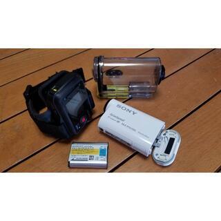 SONY - SONYデジタルHDビデオカメラレコーダーアクションカムHDR-AS100V