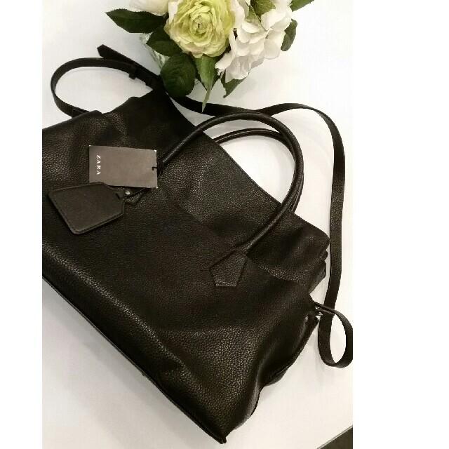 ZARA(ザラ)のZARA バッグ 鞄 レディースのバッグ(ハンドバッグ)の商品写真