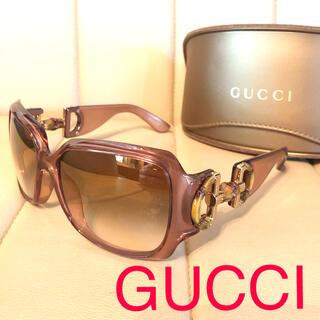 Gucci - 断捨離セール GUCCI グッチ バンブー パープル サングラス