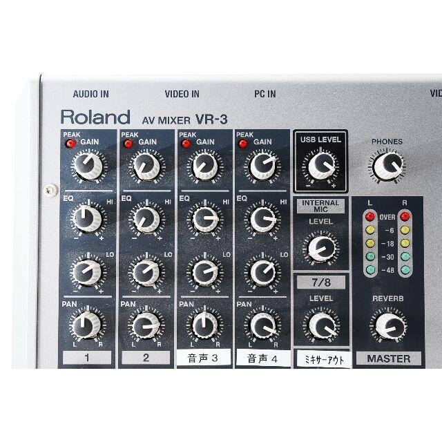 Roland(ローランド)のRoland AV MIXER VR 3 リブ様専用 RHYTHM-123セット スマホ/家電/カメラのテレビ/映像機器(その他)の商品写真
