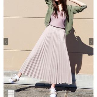 GRL - グレイル ロングプリーツスカート