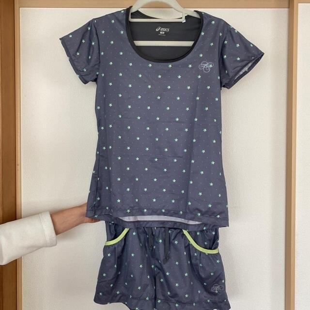 asics(アシックス)のasics レディースランニングセットアップウェア スポーツ/アウトドアのテニス(ウェア)の商品写真