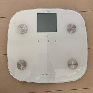 エレコム(ELECOM)のELECOM  体組成計 HCS-FS01(体重計/体脂肪計)