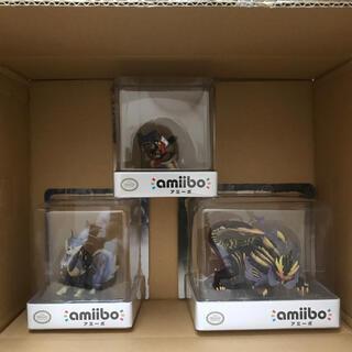 Nintendo Switch - モンハンの amiibo 3点セット