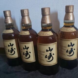 サントリー(サントリー)の山崎12年 4本(ウイスキー)