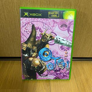 エックスボックス(Xbox)のO・TO・GI 御伽(家庭用ゲームソフト)