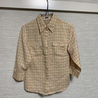インディオ(indio)のindioのチェックシャツ(シャツ/ブラウス(長袖/七分))