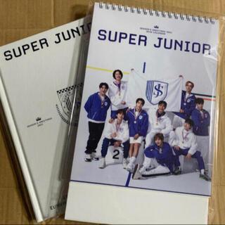 SUPER JUNIOR - super junior シーグリ デスクカレンダーとダイアリー