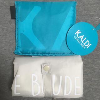 カルディ(KALDI)のカルディ エコバッグ ピカール 保冷バッグ KALDI picard 2点セット(エコバッグ)