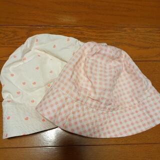 エイチアンドエム(H&M)の幼児 帽子 キッズ 2枚セットです(帽子)