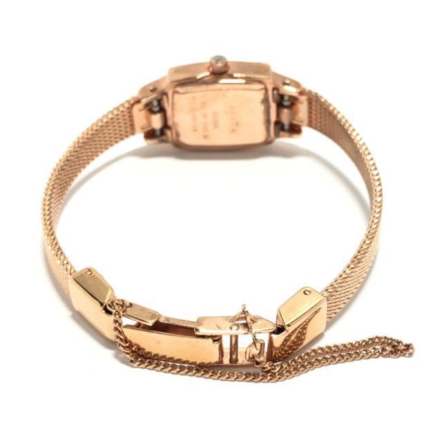 agete(アガット)のagete(アガット) レディース 白 レディースのファッション小物(腕時計)の商品写真