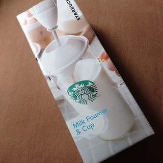 スターバックスコーヒー(Starbucks Coffee)のスターバックス Milk Foamer & Cup(調理道具/製菓道具)