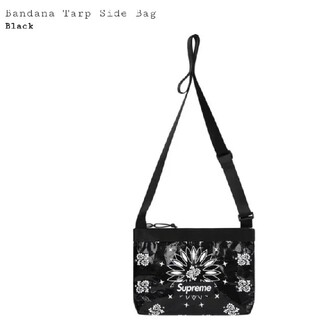 Supreme - Supreme Bandana Tarp Side Bag