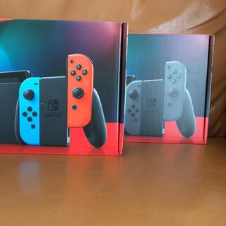 Nintendo Switch - ニンテンドースイッチ ネオン グレー