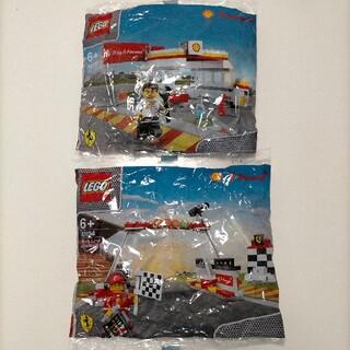 Lego - レゴ LEGO シェル SHELL フェラーリ FERRARI 2種類セット