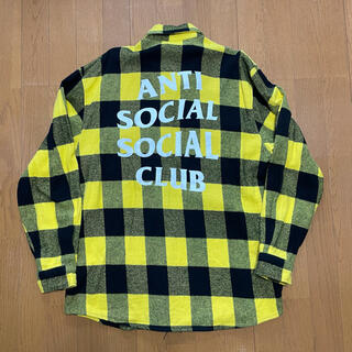 ANTI SOCIAL SOCIAL CLUB ASSC ネルシャツ(シャツ)