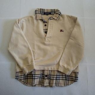 BURBERRY - BURBERRY トレーナー と Tシャツ の2点セット 子供服 バーバリー
