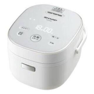 SHARP - 新品未使用 SHARP 炊飯器 KS-JC5-W ホワイト
