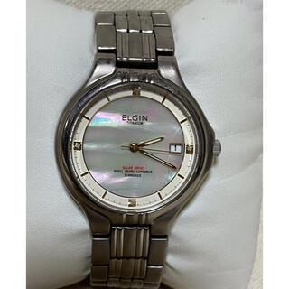 エルジン(ELGIN)のELGIN エルジン ソーラー腕時計 チタニウム(腕時計(アナログ))