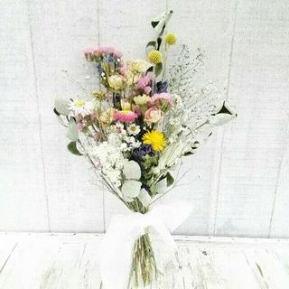 【ラッピング無料】野の花 のスワッグ