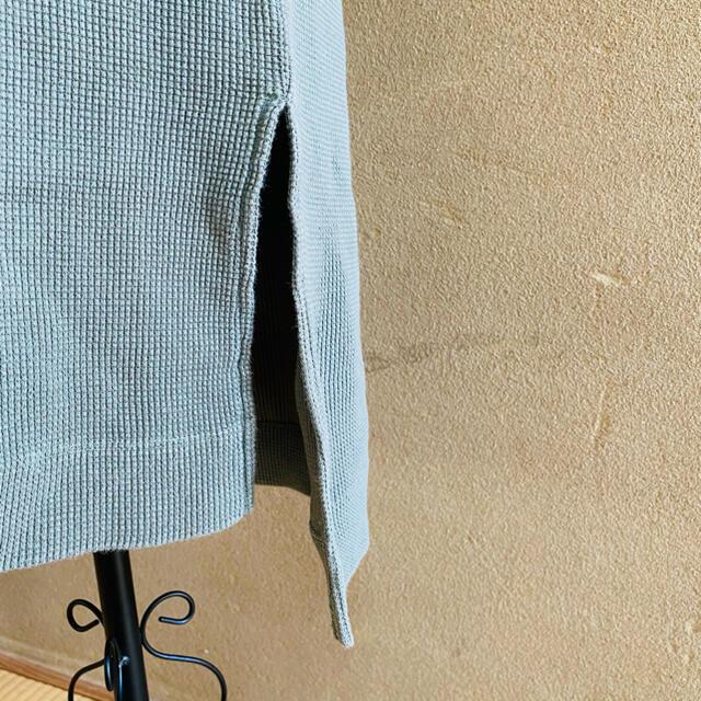 DOORS / URBAN RESEARCH(ドアーズ)のDOORS/ワンピースワッフル生地 マキシ丈/カーキ レディースのワンピース(ロングワンピース/マキシワンピース)の商品写真